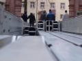 OLYMPUS DIGITAL Aufbau Schlosshof-Zelt (10.01.2015)