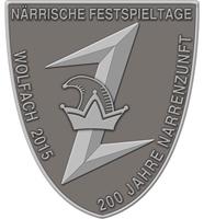 Logo Närrische Festspieltage 2015 klein
