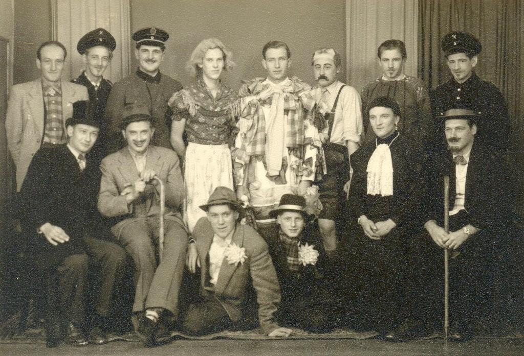 Fasnetsspiel-Gruppe 1956