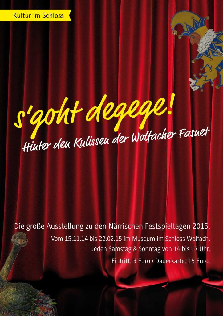 Plakat Kultur im Schloss